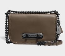 Swagger 20 Shoulder Bag aus Khaki Kalbsleder