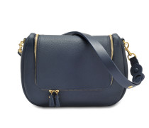 Vere Soft Satchel Bag in Mini Grain