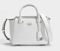 Nolita Mini Messenger Tasche aus Optic weißem Leder