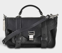 PS1 Tiny + Grainy Calf Leather bag