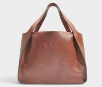 Alter Nappa Stella Logo Tote Tasche aus Pecan Eco Material