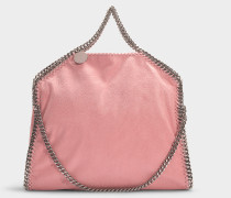 Handtasche Falabella 3 Chains Shaggy Deer aus Synthetikmaterial in Blush Nude