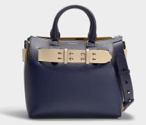 The Small Belt Bag in Regency Blue Calfskin