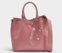 Bucket Bag Blakely Medium aus rosa Kalbsleder