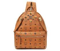 Dual Stark Small Backpack in Cognac sandfarben