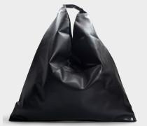 Handtasche Japanese aus schwarzem Synthetikmaterial