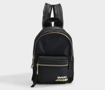 Mini Backpack in Black Polyester