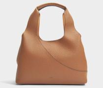 Horizontal Tote Bag aus Biscotti Leder