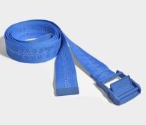 Gürtel Classic Industrial aus blauem Synthetikmaterial