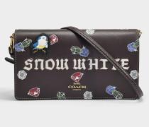 Clutch mit Schulterriemen Snow White Foldover