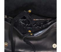 Tasche Bobi aus Leder in Ponyfell-Optik