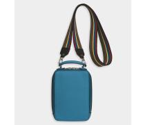 Handtasche Pavé aus Kalbsleder in der Farbe Dragée