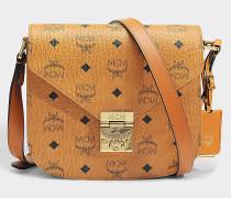Patricia Small Bag in Cognac sandfarben