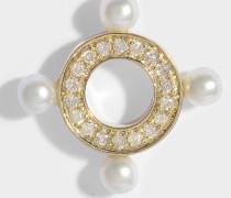 Quatuor Mono Ohrring in 14K Gelbgoldfarbenem und Diamanten