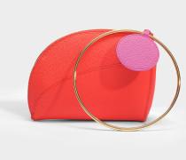 Eider Tote Tasche aus Desert rosanem Kalbsleder