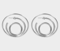 Ricoché L Ohrringe aus Silber