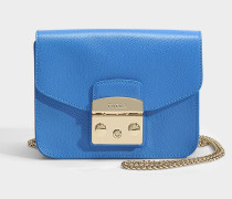Metropolis Mini Crossbody Tasche aus Celeste Ares Leder