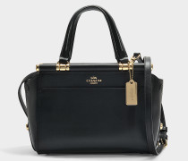 Handtasche Grace 20 aus schwarzem Kalbsleder