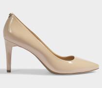 Pumps Dorothy Flex aus blassrosa Lackleder