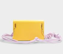 Handtasche Dia aus camelfarbenem Leder