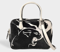 Tasche double handle small Panther