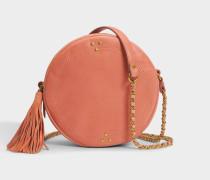 Remi Tasche aus rosanem Lammleder