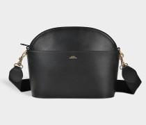 Tasche Gabrielle aus schwarzem Kalbsleder