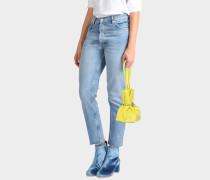 Micro Causch Tasche aus Citron Wendy Lux Croco