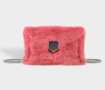 Envelope-Clutch Lockett Mini aus Nerz