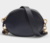 Tasche Gilly aus schwarzem Kalbsleder