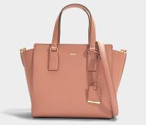 Kleine Handtasche Hayden Cameron Street aus beigem Kalbsleder
