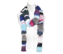Rainbow Twist scarf in fox