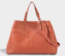 Maurice Tasche aus rosanem Lammleder
