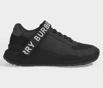 Sneaker Ronnie aus schwarzem Leder
