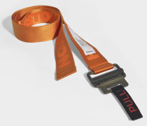 Gürtel Tape in orange Baumwolle