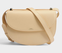 Genève Tasche aus beige glattem Leder