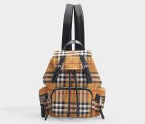 Kleiner Rucksack The Rucksack aus Nylon Vintage Check