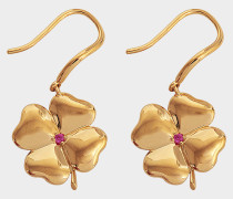 Fine Jewellery Ohrringe - 18K Gold mit Rubinen