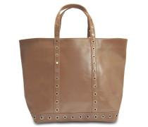 Leather and Eyelets Medium + Tote Bag aus Antilope Kuhleder
