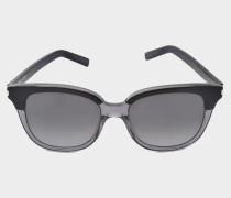 schwarze Sonnenbrille SL 10
