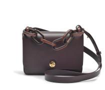 Spring Small Bag aus Oxblood Kuhleder