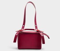 Handtasche The Bolt aus rosa Kalbsleder
