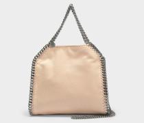 Shaggy Deer Falabella Mini Tote Bag aus Powder Nuancen Öko Leder