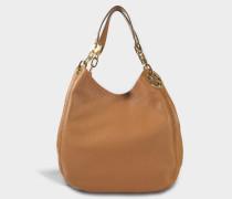 Fulton Large Schulter Tote Bag aus Acorn Soft Venus Leder