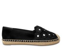 Max Schuhe mit Schlangenmuster aus Kalbsleder
