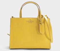 Handtasche Sam Thompson Street aus gelber Baumwolle