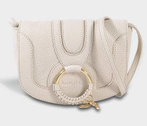 See by Chloé Hana Mini Crossbody Bag in Cement Beige Calfskin