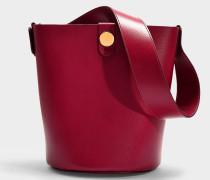 Handtasche The Swing aus rosa Kalbsleder
