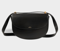 Geneve Tasche aus schwarzem Kalbsleder