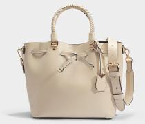 Blakely Medium Bucket Tasche aus Hafer Viola Leder